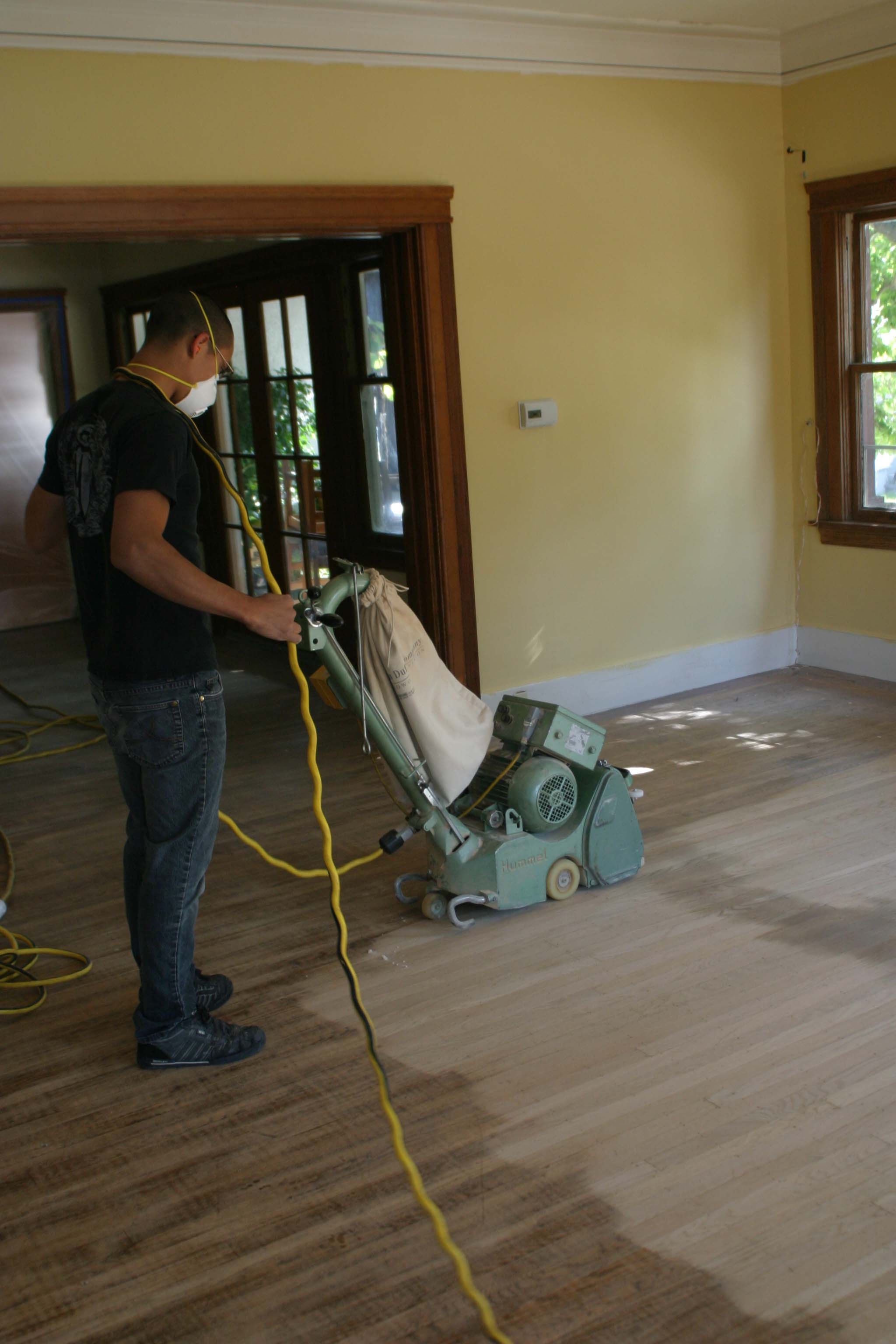 Floor Refinishing - Sanding - 2