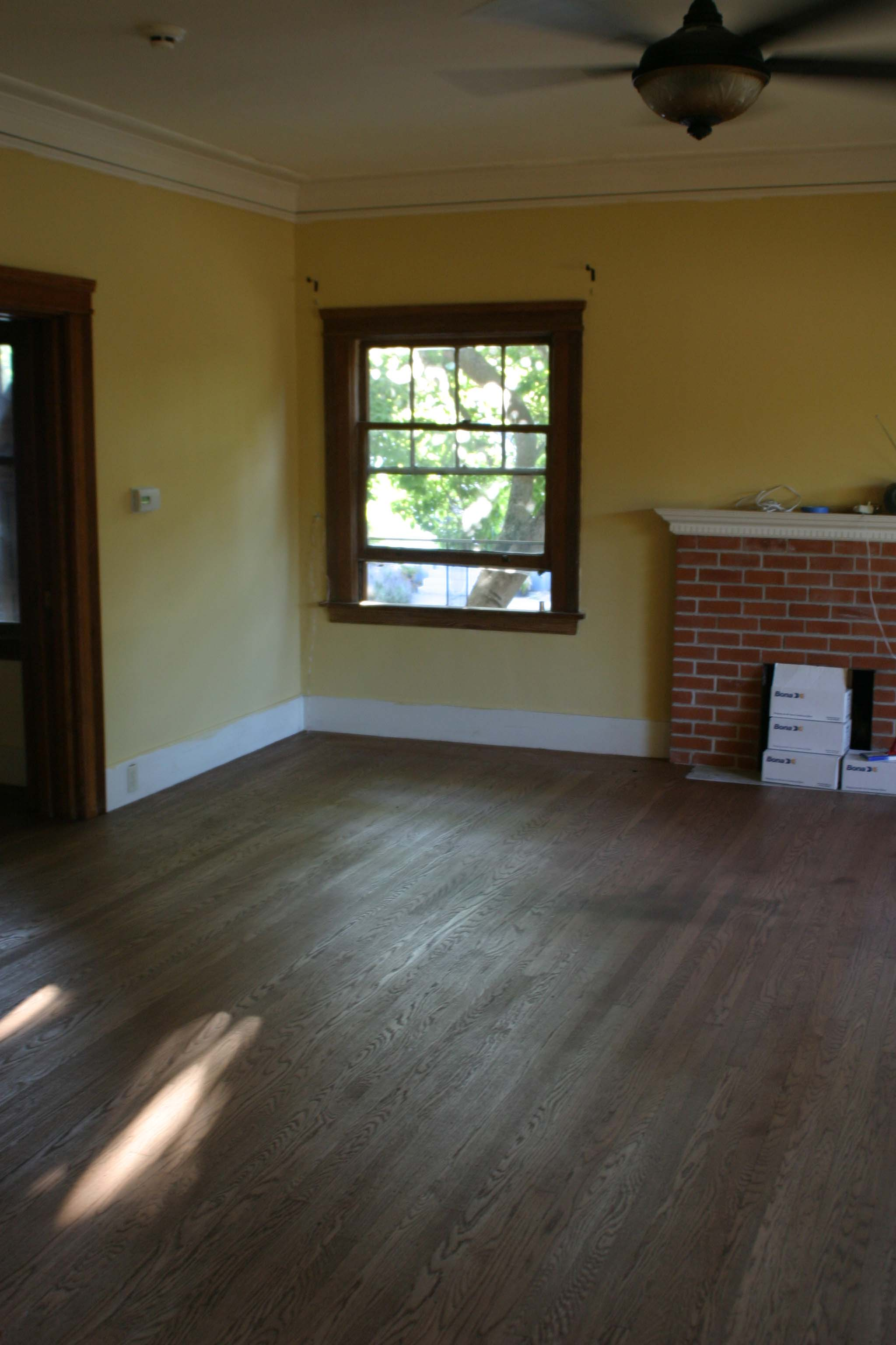 Floor Refinishing - All Done - 1