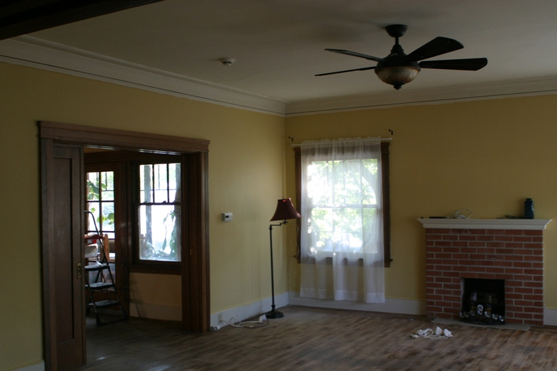 Northeast corner of the living room