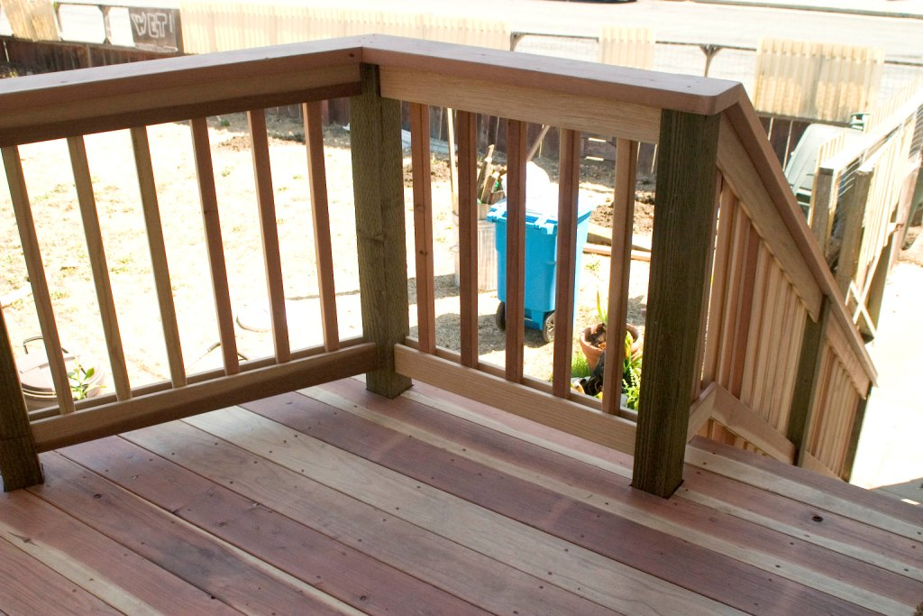 Replacing 2x4 Rail Cap And Covering 4x4 Posts Building Construction Diy Chatroom Home Improvement Forum